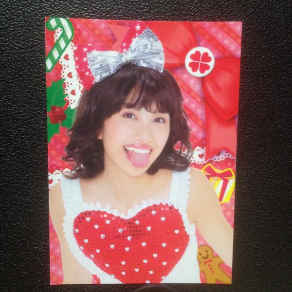 ももクロ 百田夏菜子 トレカ ももブロ プロモーションカード ミライボウル