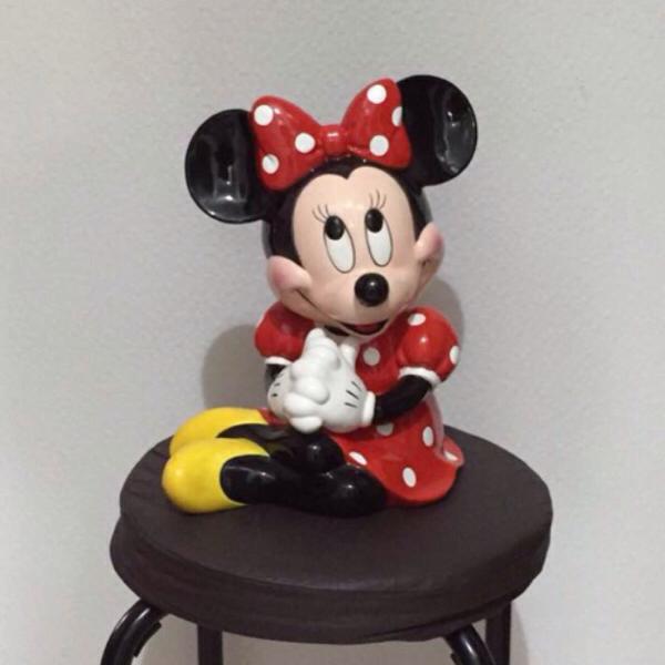 ディズニー ミニー 陶器 置物 ディズニーグッズの画像