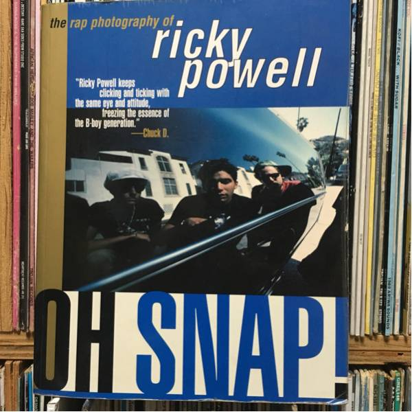 洋書 写真集 ricky powell oh snap! bastie boys run dmc def jam old school hiphop rapper ヒップホップ 写真集