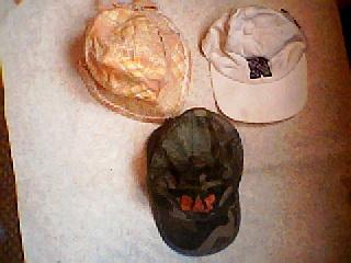 21-1-49 size 48-50 baseball cap 2 piece . girl. hat 50cm. man. hat 54cm. Uni Home