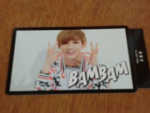 GOT7 BamBam トレカ 【LAUGH LAUGH LAUGH】
