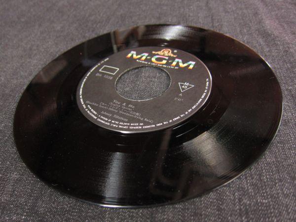EPレコード 『ユー・アンド・ミー』ジョニー・ティロットソン DM-1058 「YOU&ME」 MGM RECORDS 日本グラモフォン株式会社_画像3