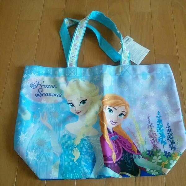 新品 アナ雪 女王 エルサ トートバッグ TDL 送174定価2800円 ディズニーグッズの画像