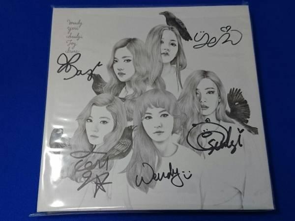 Red Velvet 直筆サインCD / Ice Cream Cake (非売品)