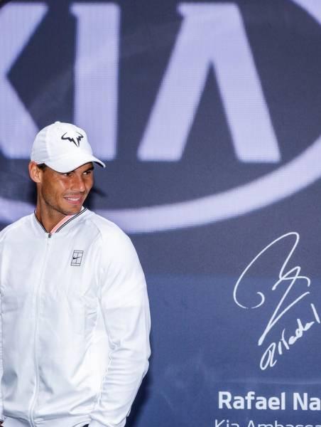 ラファエル・ナダル 2L判写真1枚 テニス ④