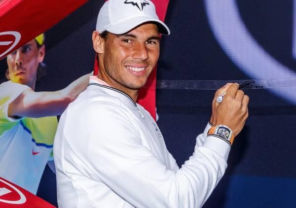 ラファエル・ナダル 2L判写真1枚 テニス ③