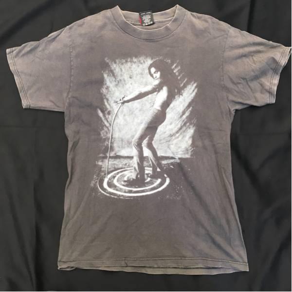 レア!LENNY KRAVITZ Tシャツ ヴィンテージ USA製 レニークラヴィッツ バンド ロック GIANT製 レニクラ レッチリ