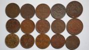 中国銅幣類 15枚組 奉天省 山東省 湖南省 大清銅幣 チベットなど