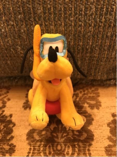 東京ディズニーランド34周年限定 プルート ぬいぐるみバッジ 新品 ディズニーグッズの画像