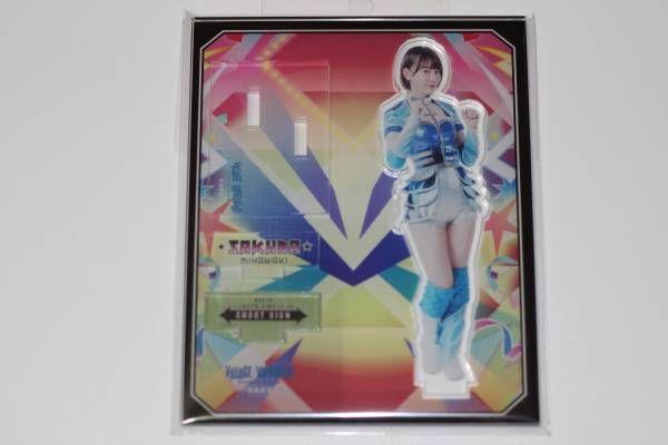 AKB48 宮脇咲良 HKT48 シュートサイン 豆腐プロレス ヴィレッジヴァンガード アクリルスタンド 新品!