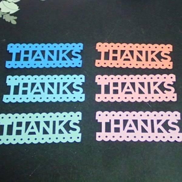 ��lposb ������/ THANKS�@�N���t�g�p���` 6�F 10���@/ ���肪�Ƃ� �_�C�J�b�g�@��̓� ���̓� ����@�J�[�h THANKYOU Thank you Image1