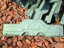 屋根 雪止め金具(横方向取付用)18個 中古品
