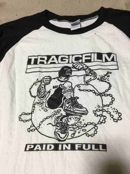 TRAGIC FILM Tシャツ サイズL NYHC YOUTH OF TODAY ALL OUT WAR INTEGRITY Second To None