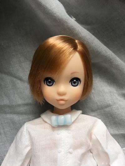 カスタムruruko boy  Milk blue ribbon tie blouse for boy by #000000_画像3