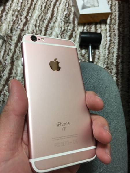 iphone6s 64G ピンク 美品 格安スタート_画像2