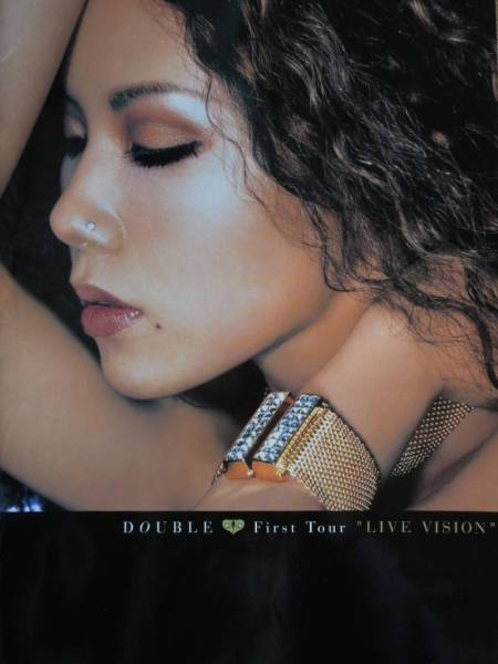 DOUBLE First Tour LIVE VISION パンフレット