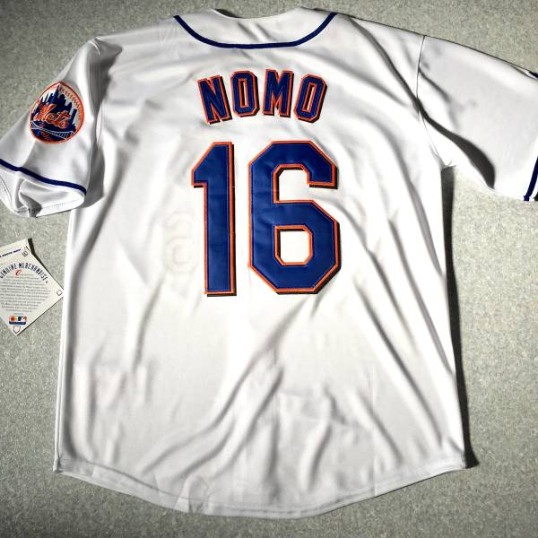 MLB メッツ 野茂英雄 #16 ジャージ ユニフォーム グッズの画像