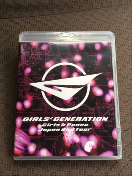 少女時代 2ndツアー Girls&Peace ブルーレイ ライブグッズの画像