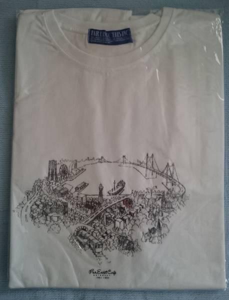 小田和正 1991-95年Far East Cafe横浜・元町店記念Tシャツ(未使用) コンサートグッズの画像