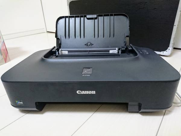 【100円】CANON PIXUS iP2700 電源確認済み美品