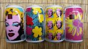 キリン ラガー アンディ ウォーホル デザインパッケージ 4種類 各1本 計4本セット マリリン モンローなど