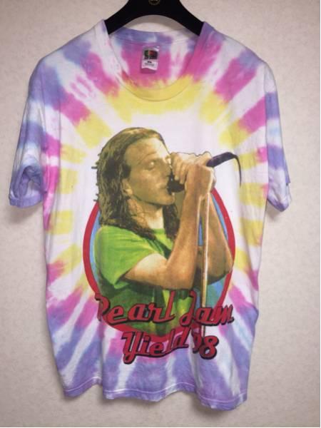希少 Pearl Jam ビンテージ Tシャツ タイダイ kanye nirvana Fear of god yeezy Jerry Lorenzo着