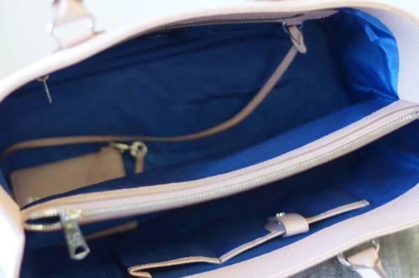 ADMJ エーディーエムジェイ トートバッグ ハンドバッグ 鞄 定番 日本製 レディース レザー 革 ピンク b6571_画像7