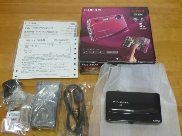 展美保証付■FUJIFILM FinePix Z950EXR ブラック