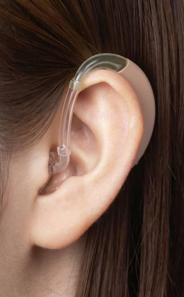 補聴器 ベルトーン デジタル補聴器 耳掛けタイプ オリジン-1-75 ブラック_画像はベージュです。
