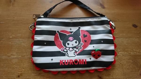 サンリオ クロミ kuromi ポーチバッグ 未使用 グッズの画像