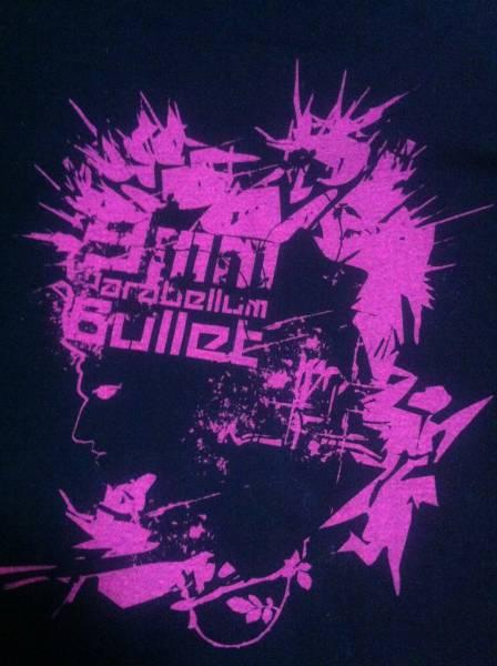 9mm Parabellum Bullet ★ キューミリ・パラベラム・バレットのTシャツ ライブグッズの画像