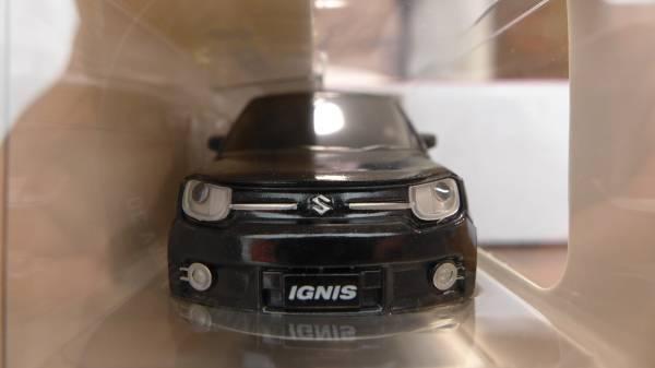 スズキ SUZUKI イグニス IGNIS ミニカー 8台全色全種類コンプリートコレクション 新品未開封 非売品 専用箱付き_私の愛車 ブラック画像