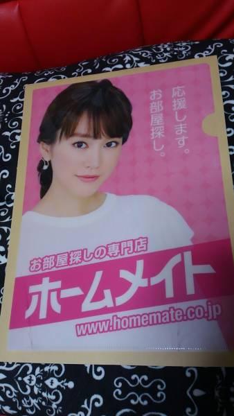 桐谷美玲 クリアファイル ホームメイト 最新? グッズの画像