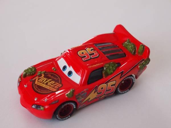 マテル Mattel ディズニー カーズ Cars カクタスサボテン ライトニング マックィーン Cactus Lightning McQueen ディズニーグッズの画像