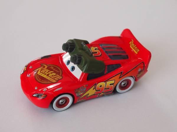 マテル Mattel ディズニー カーズ Cars ナイトビジョン ライトニング マックィーン NIGHT VISION Lightning McQueen ディズニーグッズの画像