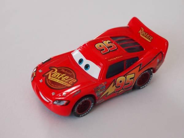 マテル Mattel ディズニー カーズ Cars タール汚れ ライトニング マックィーン TAR Lightning McQueen ディズニーグッズの画像