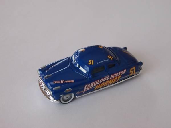マテル Mattel ディズニー カーズ Cars 伝説のハドソン・ホーネット Fabulous Hudson Hornet ディズニーグッズの画像