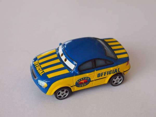 マテル Mattel ディズニー カーズ Cars RACE OFFICIAL TOM ディズニーグッズの画像