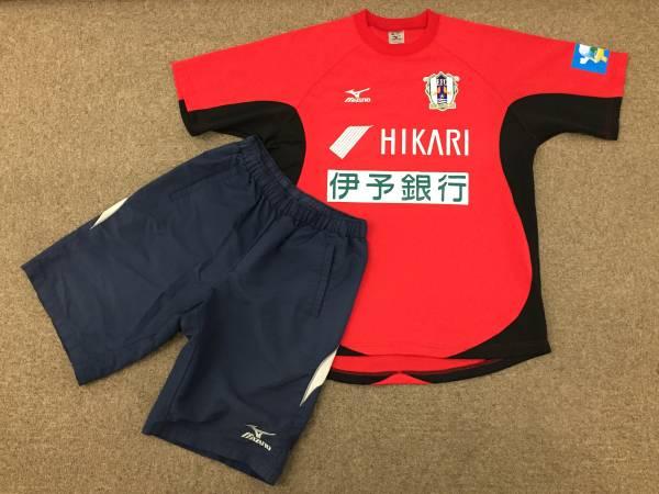 選手支給 2013 J2 愛媛FC MIZUNO・ミズノ 実使用 GK仕様 トレーニング・トップス&トレパンツ上下・練習着/松山SC・松山サッカークラブ