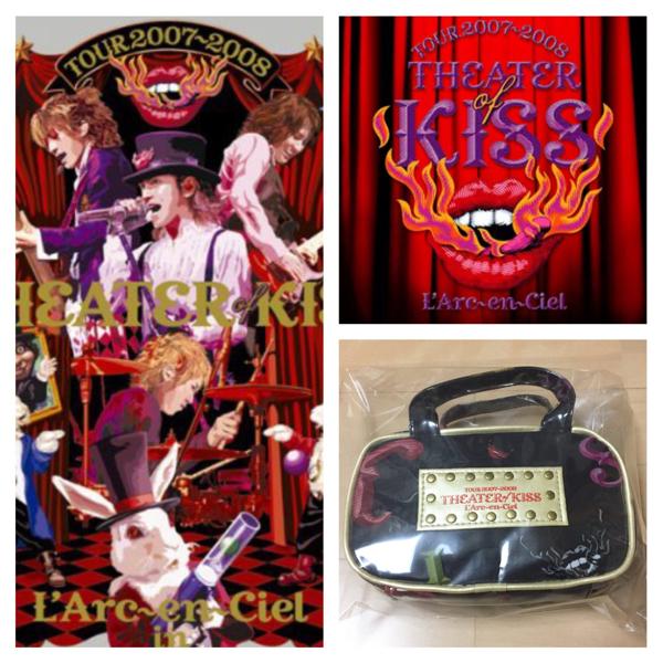 貴重★完売 L'Arc-en-Ciel theater of kiss ライブ グッズ ポーチ ラルクアンシエル L'Arc~en~Ciel hyde VAMPS 東京ドーム LIVE TOUR