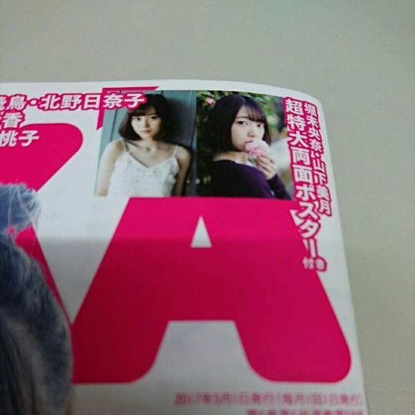 BUBUKA 付録☆堀未央奈・山下美月超特大両面ポスター
