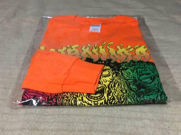 WANIMA JUICE UP!!ツアー ロンT ラスタカラー オレンジ Mサイズ 新品 Tシャツ