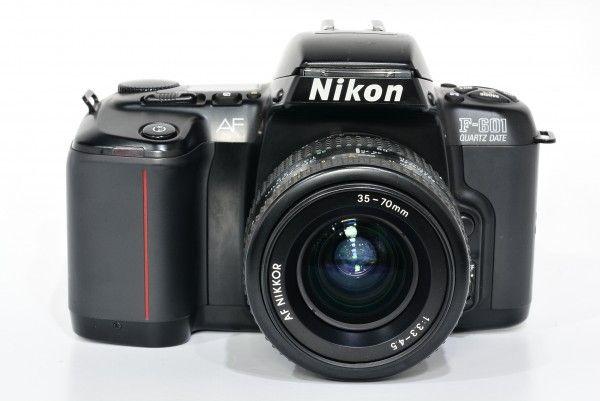Nikon ニコン F-601+AF NIKKOR 35-70mm F3.3-4.5 一眼レフカメラ ズームレンズ フィルム 送料無料 1円オークション