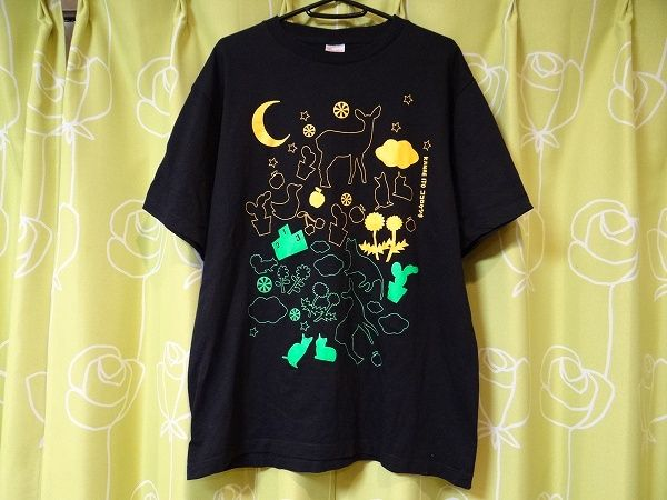 美品 伊藤かな恵 ココロケシキ ファーストライブ Live tour 2012 Tシャツ XLサイズ 声優