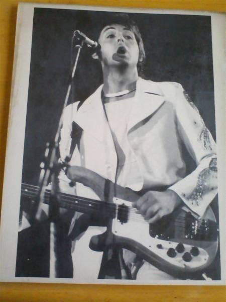 Paul McCartney プロモ写真 MPL EMI製!! Rickenbacker 4001s