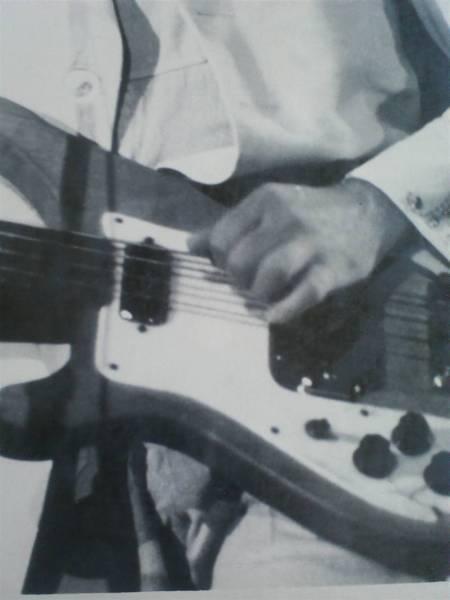 Paul McCartney プロモ写真 MPL EMI製!! Rickenbacker 4001s_画像3