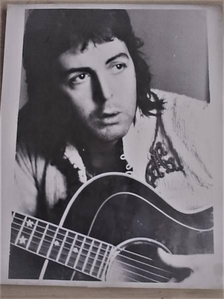 Paul McCartney & Wings プロモ写真 MPL EMI製!! Gibson Every Brothers!!!
