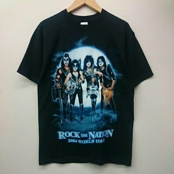 KISS キッス ROCK THE NATION ワールドツアー anvil Tシャツ 2004 ヴィンテージ vintage ライブグッズの画像
