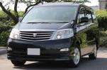 =H19 Alphard MZ-G edition [HDD navi / back camera / rear flip down monitor -/ original leather /2MR/HID/7 number of seats ]
