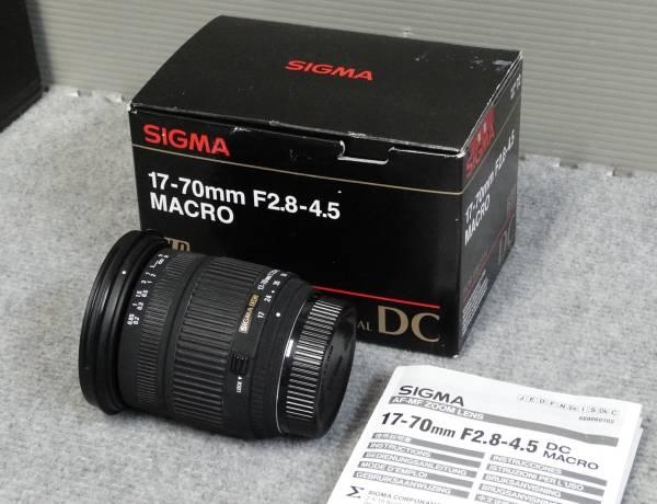 ◎シグマSIGMA☆17-70mm F2.8-4.5 DC MACRO☆Nikon☆